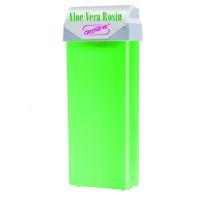 depileve Wachspatrone Aloe Vera Rosin Wax mit breitem Rollaufsatz 100 ml
