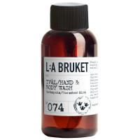 L:A BRUKET No. 74 Liquid Soap Cucumber/Mint 60 ml