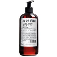 L:A BRUKET No.184 Liquid Soap Geranium 450 ml