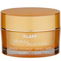 Klapp Cosmetics Orange - Coconut Effect Maske 50 ml
