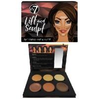 W7 Cosmetics Lift & Sculpt - Face Shaping Contour Palette 21 g