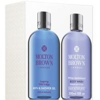 Molton Brown Wild Indigo & White Sandelwood Showergel Set
