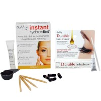 GODEFROY Instant Eyebrow Tint Hellbraun + Double Lash & Brow