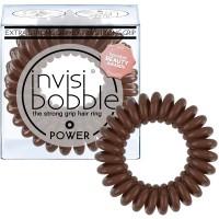 invisibobble Power Pretzel Brown 3-er Set