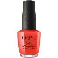 OPI LISBON Nail Laquer A Red-vival City 15 ml