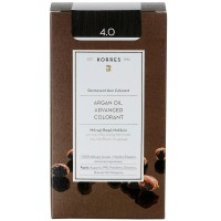 Korres Argan Oil Hair Colorant 4.0 Braun