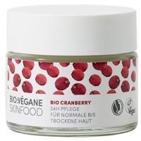 BIO:VÉGANE Bio Cranberry 24h Pflege 50 ml