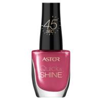 ASTOR Quick & Shine Nagellack 204 Life In Pink 8 ml