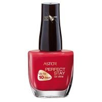 ASTOR PerfectStay Gel Shine Nagellack 629 Classy Red 12 ml