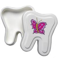 Prodent Milchzahnbox - Schmetterling