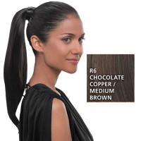 Hairdo Simply Straight Pony R6 Chocolate 45 cm