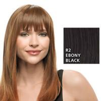 Hairdo Clip In Bang R2 Ebony Black