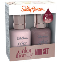 Sally Hansen Color Therapy 220 Rosy Quartz + 517 Dusty Plum Duo Set
