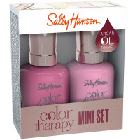 Sally Hansen Color Therapy 290 Pampered in Pink + 270 Mauve Mantra Duo Set