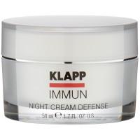 Klapp Cosmetics Immun Night Cream Defense 50 ml