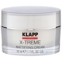 Klapp Cosmetics X-Treme Mattifying Cream 50 ml