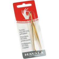 Mavala Haarpinzette °De Luxe ganz vergoldet
