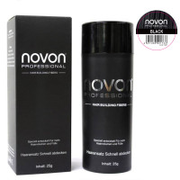 Novon Professional Hair Building Fiber Black 25 g