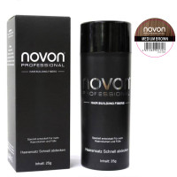 Novon Hair Building Fiber Medium Brown 25 g