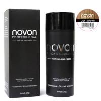 Novon Hair Building Fiber Light Brown 25 g