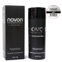 Novon Professional Hair Building Fiber Grey 25 g