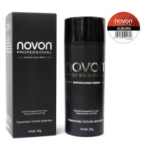Novon Professional Hair Building Fiber Auburn 25 g