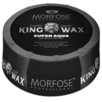 Morfose King Wax Schwarz Super Strong Aqua 175 ml
