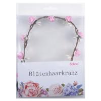 Solida Blütenhaarkranz rosa