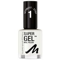 Manhattan Super Gel Nail Polish 135 In Love With White 12 ml