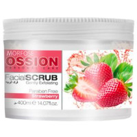 Morfose Ossion Facial Scrub Strawberry 400 ml