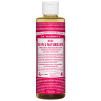 Dr. Bronner's 18-in-1 Naturseife Rose 240 ml