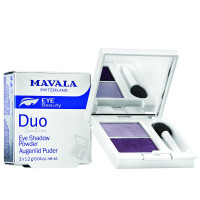 Mavala Lidschattenpuder Duo Smoky Purple 10 g