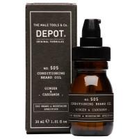 DEPOT 505 Conditioning Beard Oil Ginger & Cardamon 30 ml