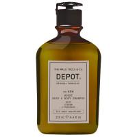 DEPOT 606 Sport Hair & Body Shampoo Mint, Ginger & Cardamom 250 ml