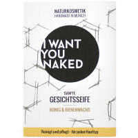 I WANT YOU NAKED Gesichtsseife Honig & Bienenwachs 100 g