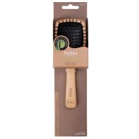 PARSA Beauty Profi FSC Holz Haarbürste Paddle Klein mit Kunststoffstiften