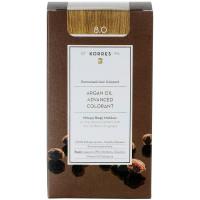 Korres Argan Oil Hair Colorant 8.0 Light Blonde