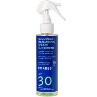Korres Cucumber Hyaluronic Splash SPF30 2-Phasen-Sonnenschutzspray - Gesicht & Körper 150 ml