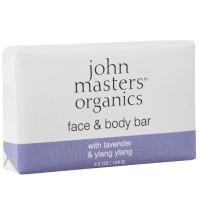 john masters organics Face & Body Bar Lavender & Ylang Ylang 128 g