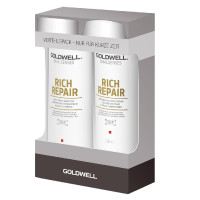 Goldwell Dualsenses Rich Repair Shampoo + Conditioner Duo