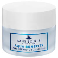 Sans Soucis Aqua Benefits 24 Stunden Creme-Gel ölfrei 50 ml