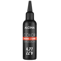 Alcina Color Gloss + Care Emulsion 4.77 mittelbraun-intensiv braun 100 ml