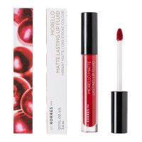 Korres Morello Matte Lasting Lip Fluid - Nr. 59 Brick Red