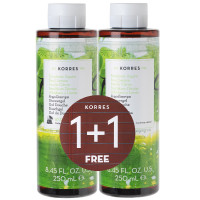 Korres 1+1 Set Basil Lemon Duschgel 2 x 250 ml
