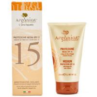 Arganiae Sonnencreme mit mittlerem Schutz LSF 15 auf Basis von Arganöl 150 ml