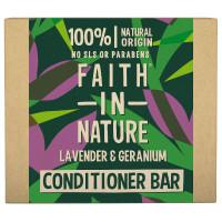 Faith in Nature Lavendel & Geranium Festes Shampoo 85 g