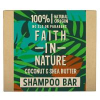 Faith in Nature Coconut & Shea Butter Festes Shampoo 85 g