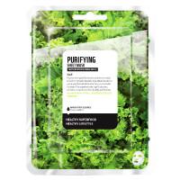 Farmskin Superfood Salad Facial Kale Purifying Sheet Mask 15 ml