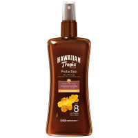 Hawaiian Tropic Protective Dry Spray Oil (SPF8) 200 ml