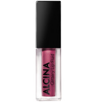 Alcina Glittery Lip Fluid Berry 02